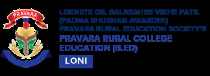 Pravara Rural College Of Education Pravaranagar